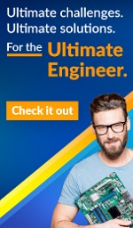 Ultimate challenges. Ultimate solutions. For the Ultimate Engineer. Check it out
