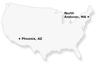 National Locations: North Andover, MA / Phoenix, AZ