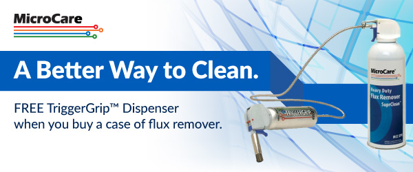 Buy a case of MicroCare flux remover and get the TriggerGrip free of charge