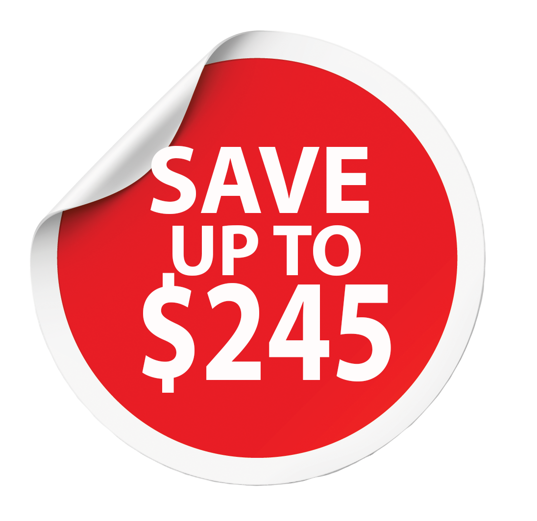 Save up to $245