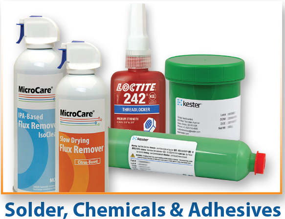 Solder, Chamicals & Adhesives