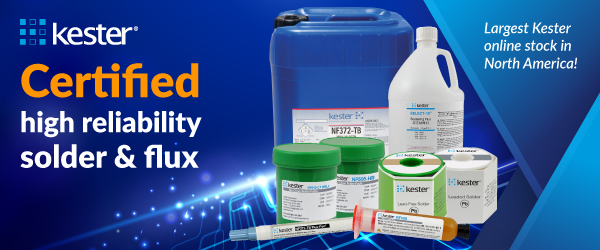 Shop Kester high-reliability solder flux, solder paste, re-work flux and flux-cored wire.