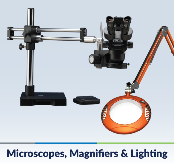 Microscopes, Magnifiers & Lighting