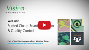 On-Demand Printed Circuit Board Inspection & Quality Control Webinar