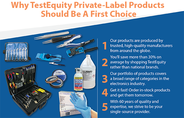 Why TestEquity Private-Label Products Should Be A First Choice
