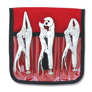 1B132 Miniature Locking Pliers Set, 3pc.