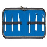 Jensen Tools JTK-4 Precision Tweezer Kit, 6 pc.