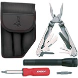 Jensen Tools 1-854BK Multi-Tool Kit I, Black Pouch