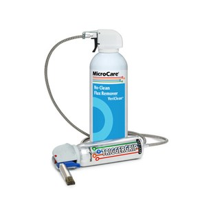 MicroCare MCC-DC1-PROMO VeriClean™ No Clean Flux Remover 10 oz. Can, 12/Case with FREE TriggerGrip™