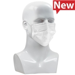 PIP 127448 Face Mask, White, CleanTeam Series