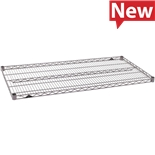 "Metro 1460NK4 Wire Shelf, Industrial, 14""x60"", Metroseal Gray Epoxy, Super Erecta Series"