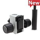 Aven 26700-140-M32 MicroVue Focus Mount with Arbor for Boom Stands, 32mm Opening