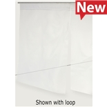 """Conductive Containers Inc. KSC2330-15-TPU ESD-Safe Workspace Divider KleanStat TPU Curtain with Welded Loop, 23"""" x 30"""""""