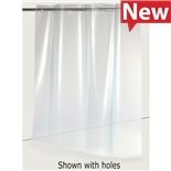 """Conductive Containers Inc. KSC2330-15-TPU-H ESD-Safe Workspace Divider KleanStat TPU Curtain with Die Cut Holes, 23"""" x 30"""""""