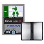 Desco 19265 Combo Tester X3 Plus, with Dual Foot Plate