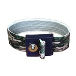 ACL 8116 Staticide® Camouflage Wrist Strap with 4mm Snap