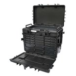 Jensen Tools 10080075 6 Drawer Moible Tool Chest, Configuration C