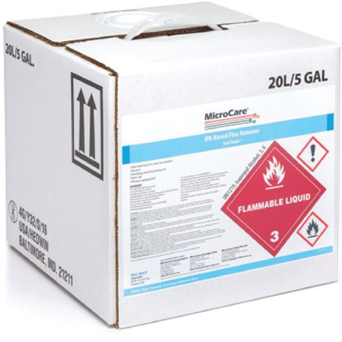 MicroCare 99% Isopropyl Alcohol, 5 Gallon, Cubitainer | JENSEN Tools