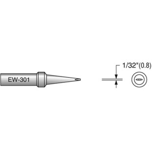 "Plato EW-301 1/32"" Chisel Solder Tip, Interchangeable for ETH"