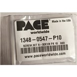 Pace 1348-0547-P10 No. 13, Set Screws, for SX-70 heaters & older heaters, date coded 1/90 or later