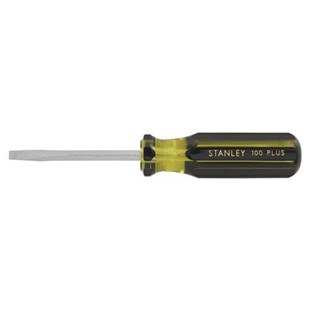 "Stanley 66-174-A 100 Plus® Screwdriver Square Blade Standard Tip 1/4"" x 4"""