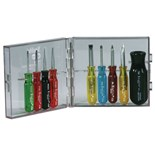 Xcelite PS88 9-pc. Compact Slotted/Phillips Screwdriver Set
