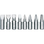 "Evco 6HBS 1/4"" Hex Insert Bit Set, 6-Pc."