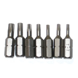 Evco 7TBS Torx Insert Bit Set, 7 Pc.
