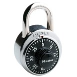 "Masterlock 1500 1 7/8"" STAINLESS STEEL COMBINATION LOCK"