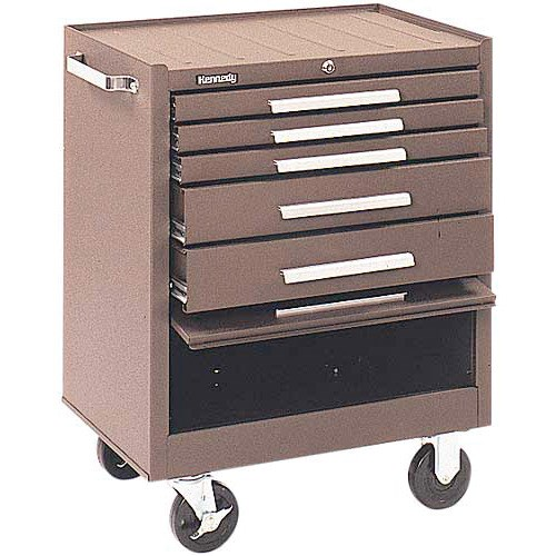 Kennedy 275B 5 Drawer Rolling Cabinet | JENSEN Tools + Supply