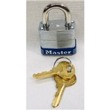 Masterlock 7 # 7 Lock Keyed Different