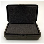 "Platt 107 Blow Molded Foam Filled Case 8-1/2 x 6 x 2-1/2"" Black"