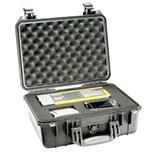 Pelican 1450-000-110 1450 PELICAN ALL WEATHER FOAM FILLED CASE-BLK
