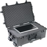 Pelican 1650 Pelican All Weather Foam Filled Case with Built-in Wheels