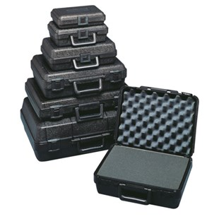 "Jensen Tools 607 Blow Molded Foam Filled Case, 16 x 11 x 3"", 3-1/2 lbs."