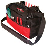Jensen Tools Red & Black Tool Tote