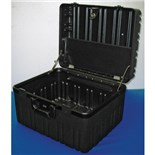"Jensen Tools Roto Rugged Case, Empty.  10"" Deep  - W/O Wheels"