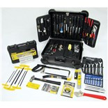 Jensen Tools 57-TJ87 CEK-57 Industrial Service Kit with Transit Style Black Case