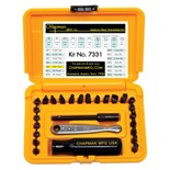 Chapman 7331 27-pc. Standard/Metric Ratchet Set
