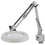 O.C. White 52400-4 Illuminated Magnifier 4 Diopters with Fluorescent Lighting
