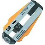 CK Tools 330009 Nickless Adjustable Wire Stripper, Range 36 to 26 AWG (0.12-0.4mm)
