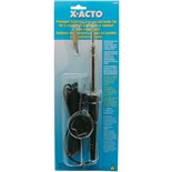 X-Acto 73780 Soldering Iron with Hot Knife Tip, 110/120V, 30/35W