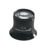 "Bausch & Lomb 81-41-70 Loupe, 1"" Working Distance, 10x Magnification"