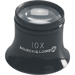 """Bausch & Lomb 81-41-72 Loupe, 2"""" Working Distance, 5x Magnification"""