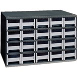 Akro-Mils 19-320 Steel Modular Storage Cabinet with 20 Polystyrene Drawers
