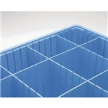 Metro DS92080BAS Static Dissipative Divider, Blue