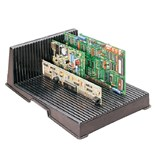 "Fancort PCBH-2LC ESD-Safe Conductive PCB Holder, 14 x 10 x 5"" with 25 Slots"