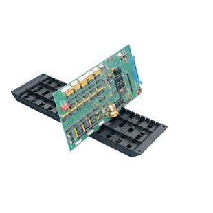 """Fancort RA-18CT ESD-Safe Conductive PCB Holder High Temp (275° F), 6"""" x 18"""" with 25 Slots"""