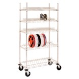 "Metro R1836BR-7 Shelf For 7"" Reels, Shelf Only"