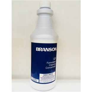 Branson GP* GP Ultrasonic General Purpose Cleaner for Soils and Light Oils, 1 Quart Concentrated